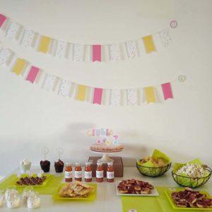 Party kit per festa a tema coriandoli