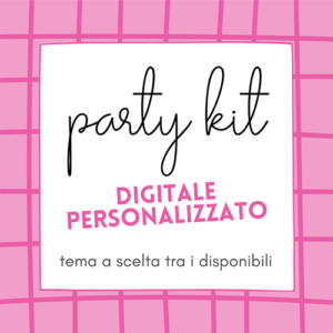 party kit digitale personalizzato