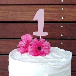 Numero per torta di compleanno o anniversario