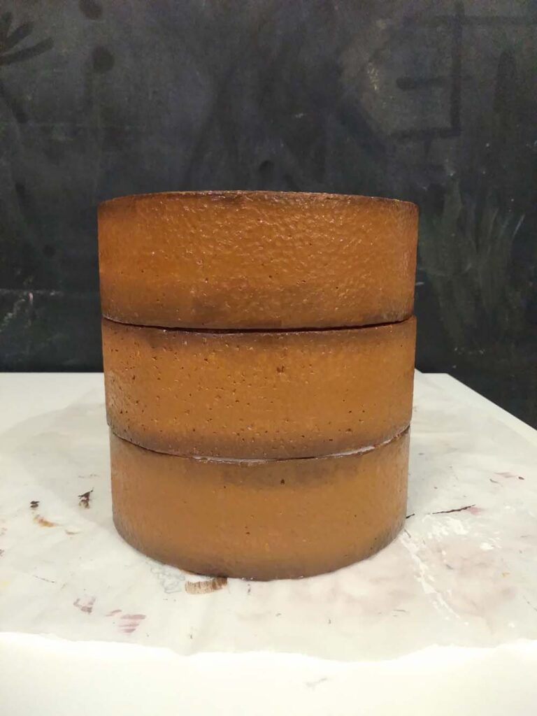 torta finta strati