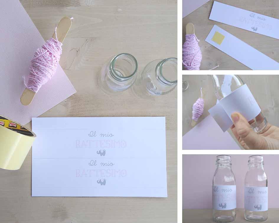 etichette acqua e succhi